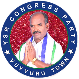 YSRCP Vuyyuru Town Logo