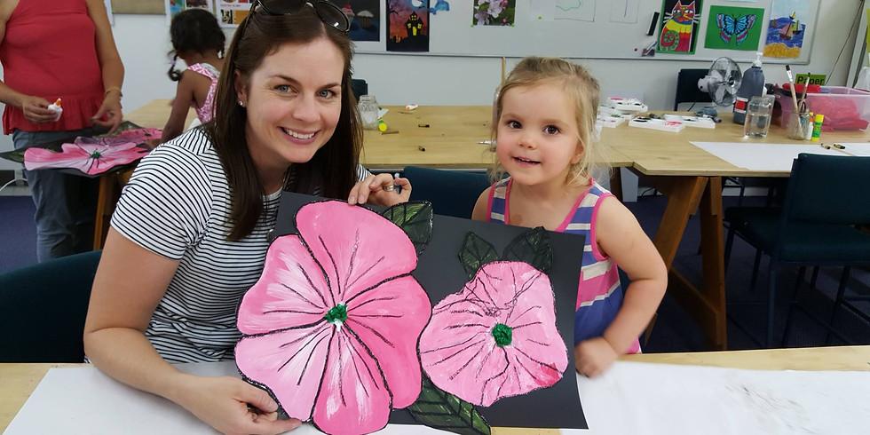 Preschool Parent Child Art Night (3-5 years)
