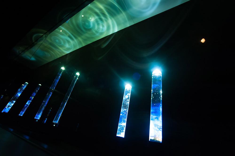 早川和明ガラスアート ガラスオブジェ 志賀高原ロマン美術館