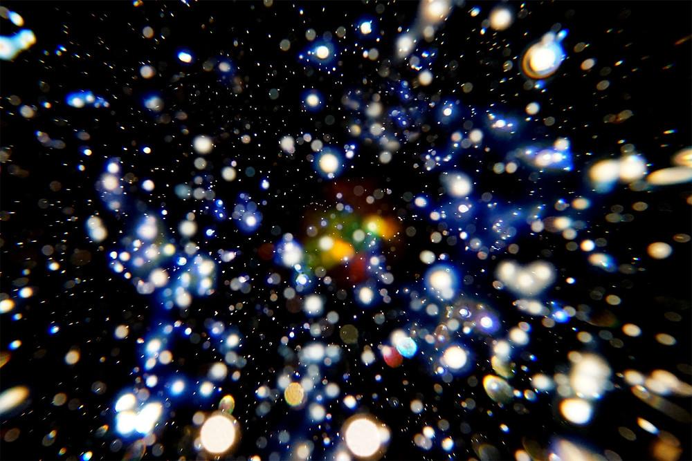 早川和明 宇宙ガラスアート 銀河 kazuakihayakawa