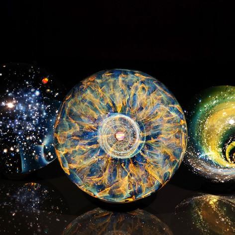 想 宇宙の眼 UZU 早川和明ガラスアート kazuaki hayakawa glass art