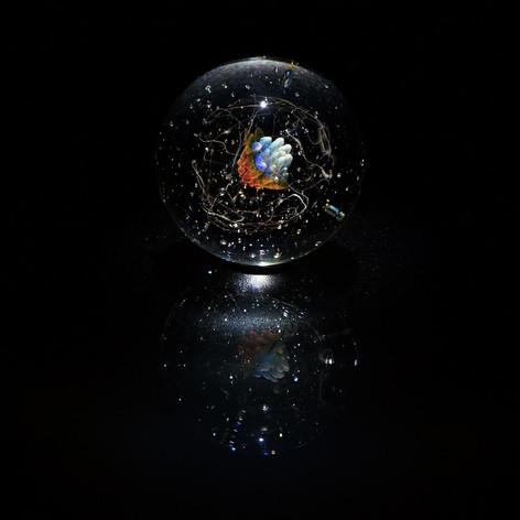 Birth 早川和明ガラスアート kazuaki hayakawa glass art
