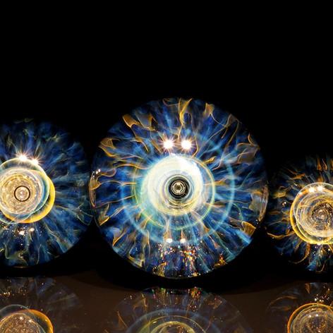 宇宙の眼 早川和明ガラスアート kazuaki hayakawa glass art
