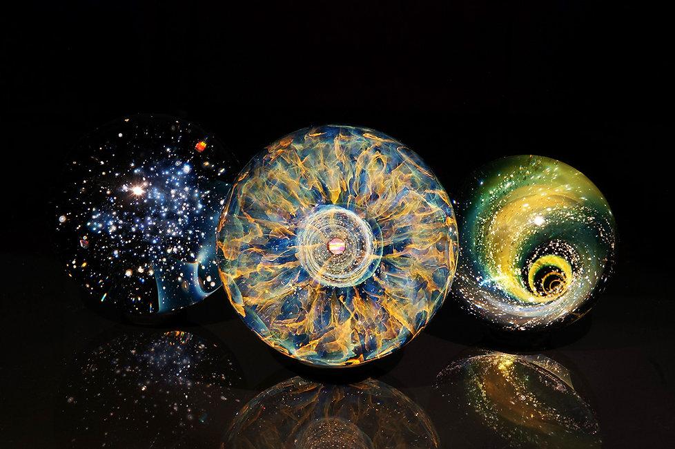 早川和明ガラス展 ガラスの中の宇宙展