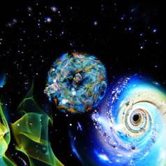Universe 早川和明ガラスアート kazuaki hayakawa glass art