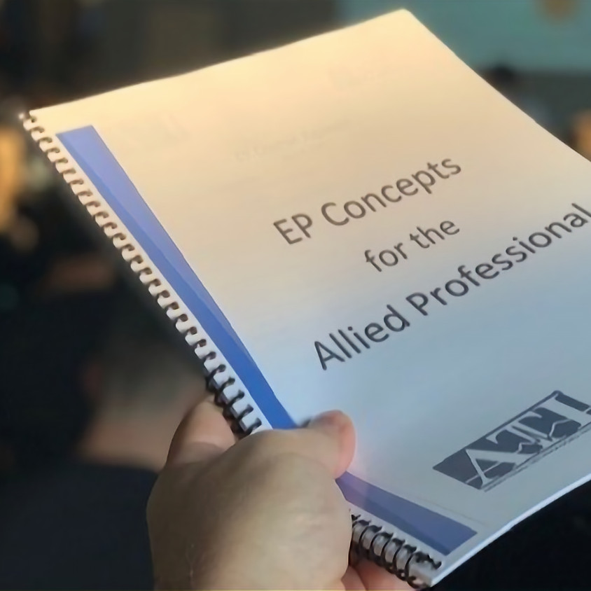 EP for the Allied Health Professional VIRTUAL Course - NOV 1-4, 2021