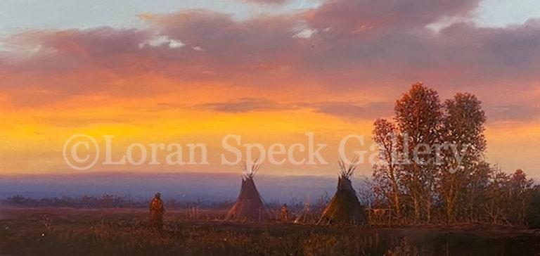 Indian Sunset - 9x12 - Gene Speck - watermark.jpg