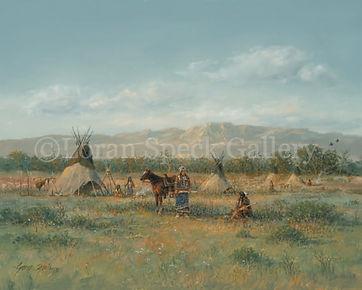 Indians on the Prairie -11x14 Gene Speck-watermark.jpg