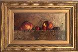 Cherries and Peaches with Frame 8 x 15.j