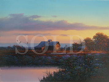 Evening Colors II - 9x12 - Gene Speck-SOLD.jpg