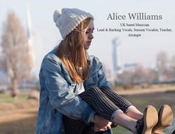 Alice J Williams - duo partner