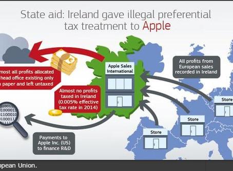 Apple - Europakommisjonen - €13mrd straffeskatt