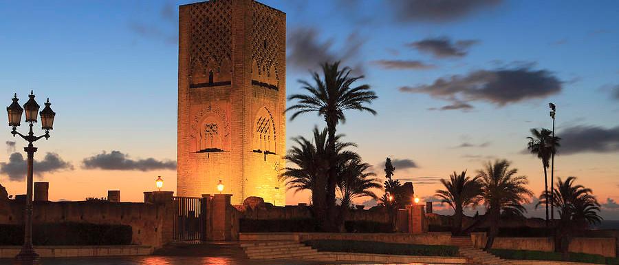 Mosque Hassan Rabat