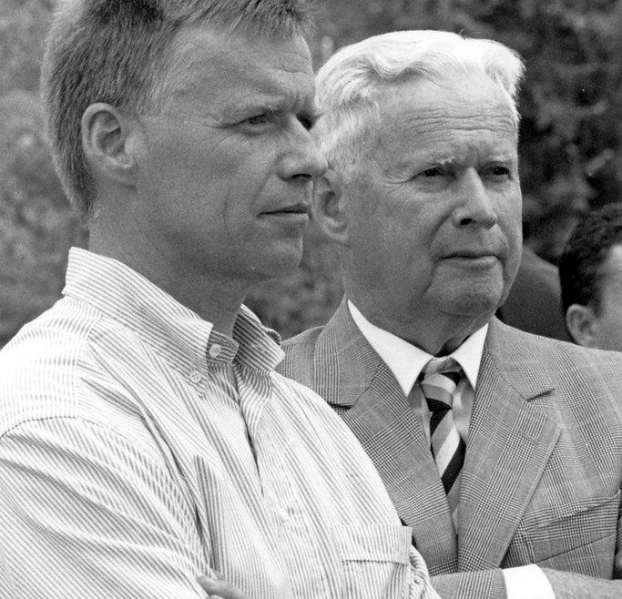 Peter Wanner und Otto Wanne