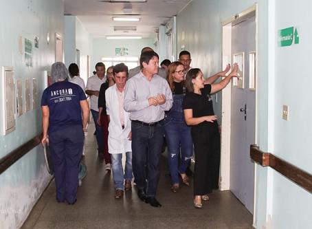 Visita do Deputado Zé Guilherme