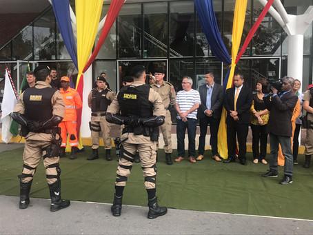 Formatura do Curso de Motopatrulhamento Especializado do 14º Batalhão de Polícia Militar