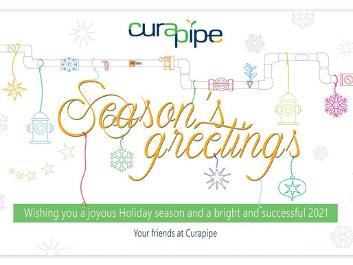 Your Friends at Curapipe Wish You Happy and Healthy 2021