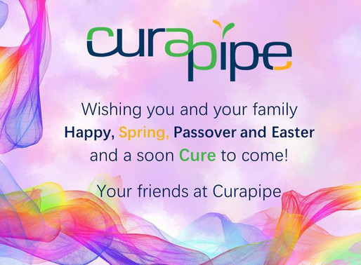 Curapipe wishes you happy Passover and Easter