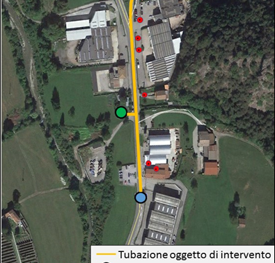 Italian Municipality Introbio Has Tested the TALR Solution for Trenchless Automated Leakage Repair