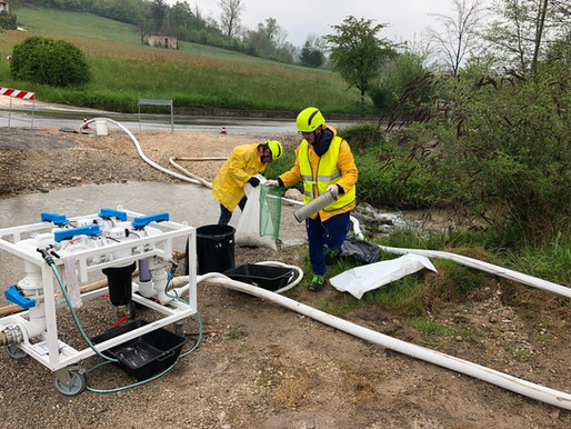 TALR Reduced 98% of Water Leakage in Italy