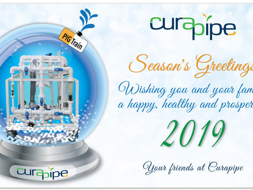 Curapipe wishes you a great 2019