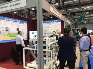Curapipe's TALR Solution Made a Splash at WATEC Italia 2018