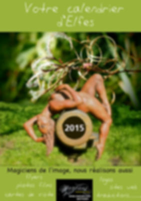 flyer affiche calendrier d'elfes Karin Lutz