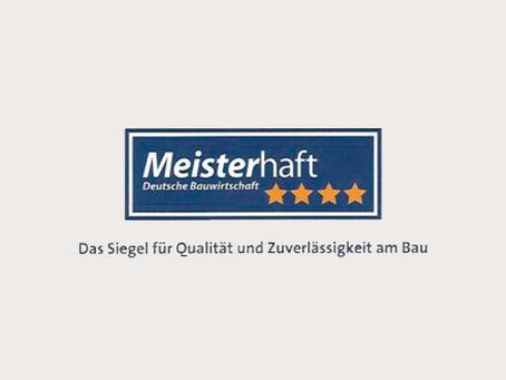 Re-Zertifizierung Meisterhaft ****