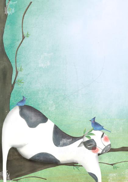Cows & Birds