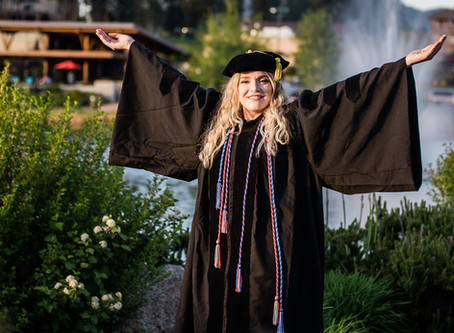 Fun Grad Session at Riverstone Park