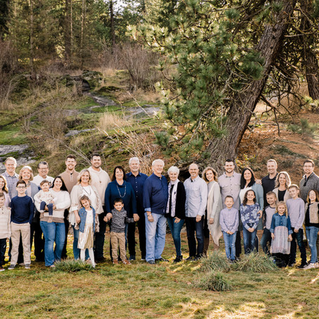 4 Generation Coeur d'Alene Family Session