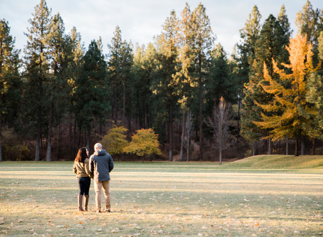 Heather + Ryan | Autumn Sunrise Engagement Session