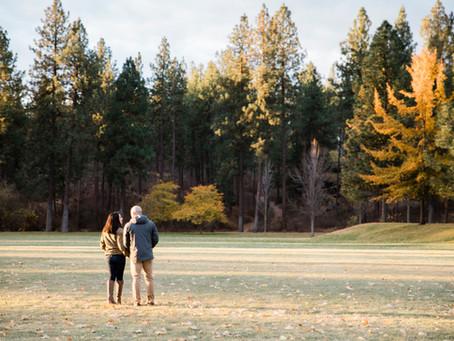 Heather + Ryan | Autumn Sunrise Engagement Session