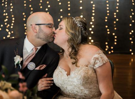 Aaron + Angela McEachran   Elegant Downtown Spokane Wedding at Riverside Place