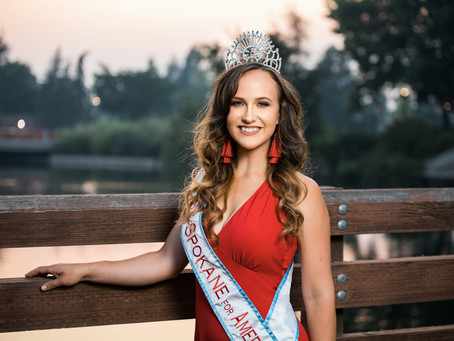 Miss Spokane for America 2020 - Downtown Session!