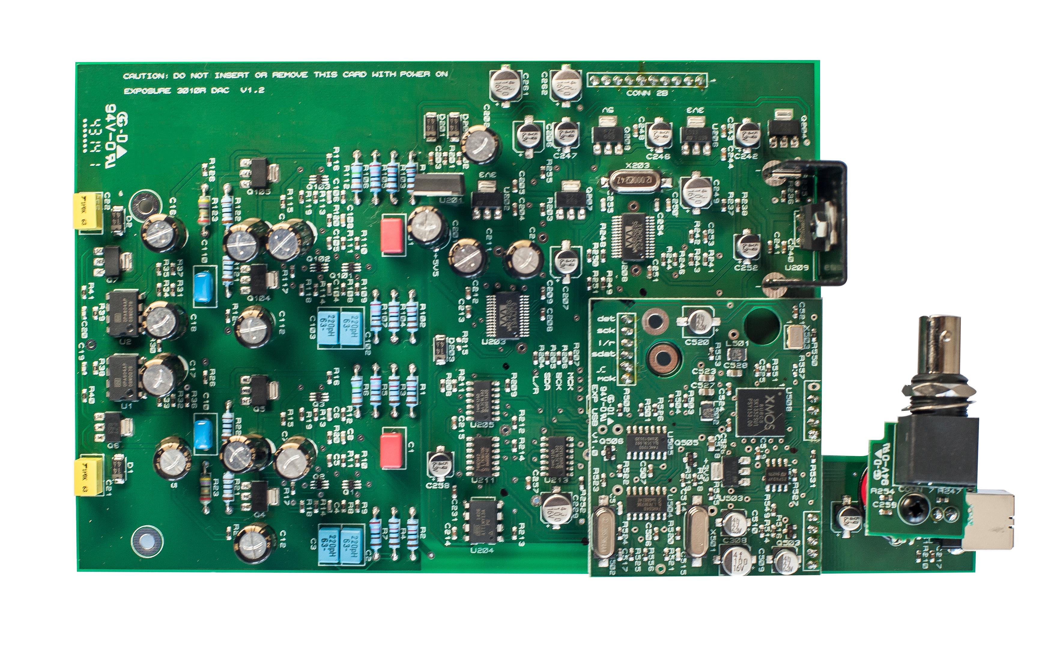 3010S2 & 5010 DAC Plug-In Board
