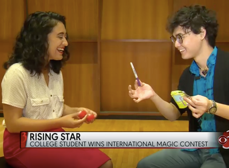 Vermont student wins international magic competition!
