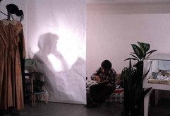The Shadows Installation - Reading of 'The Shadow' - Audience-participatory Performance by HC Andersen.