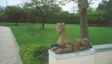 Wolfman and Sphinx in the Hampton