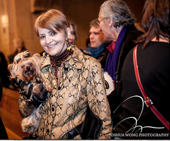 H7L December 2012 H7L with Gigi at Blessing of Animals at Church of Christ, NYC