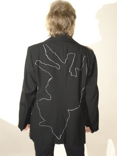 Hand-painted Toxido jacket