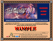 Updated Ted Nugent Color SAMPLE certific