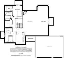 Tanner Model Home - basement