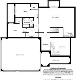 Ruby Model Home - basement