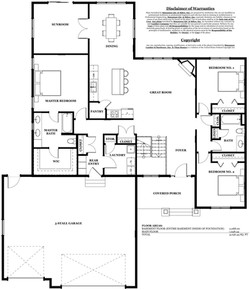 Lincoln Model Home - main