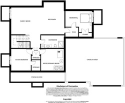 Castlebrook Model Home - basement