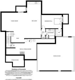 Oxford Model Home - basement