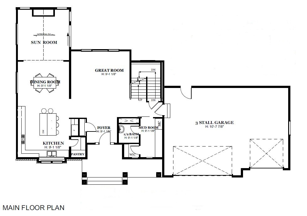 Two Story Floor Plans An Homes