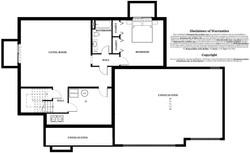 Bradford Model Home - basement