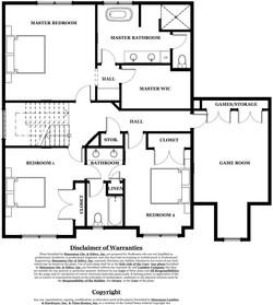 Castlebrook Model Home - upper